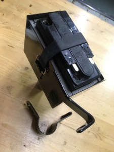 Scott's tailor-made battery box: a masterpiece