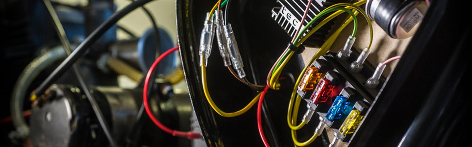 Contacts Build Motorcycle Wiring Looms Rupes Rewires Lives At