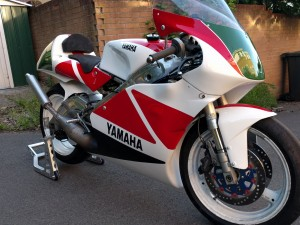 Pure form following function: you can see why some people say the TZ250 is the ultimate motorcycle