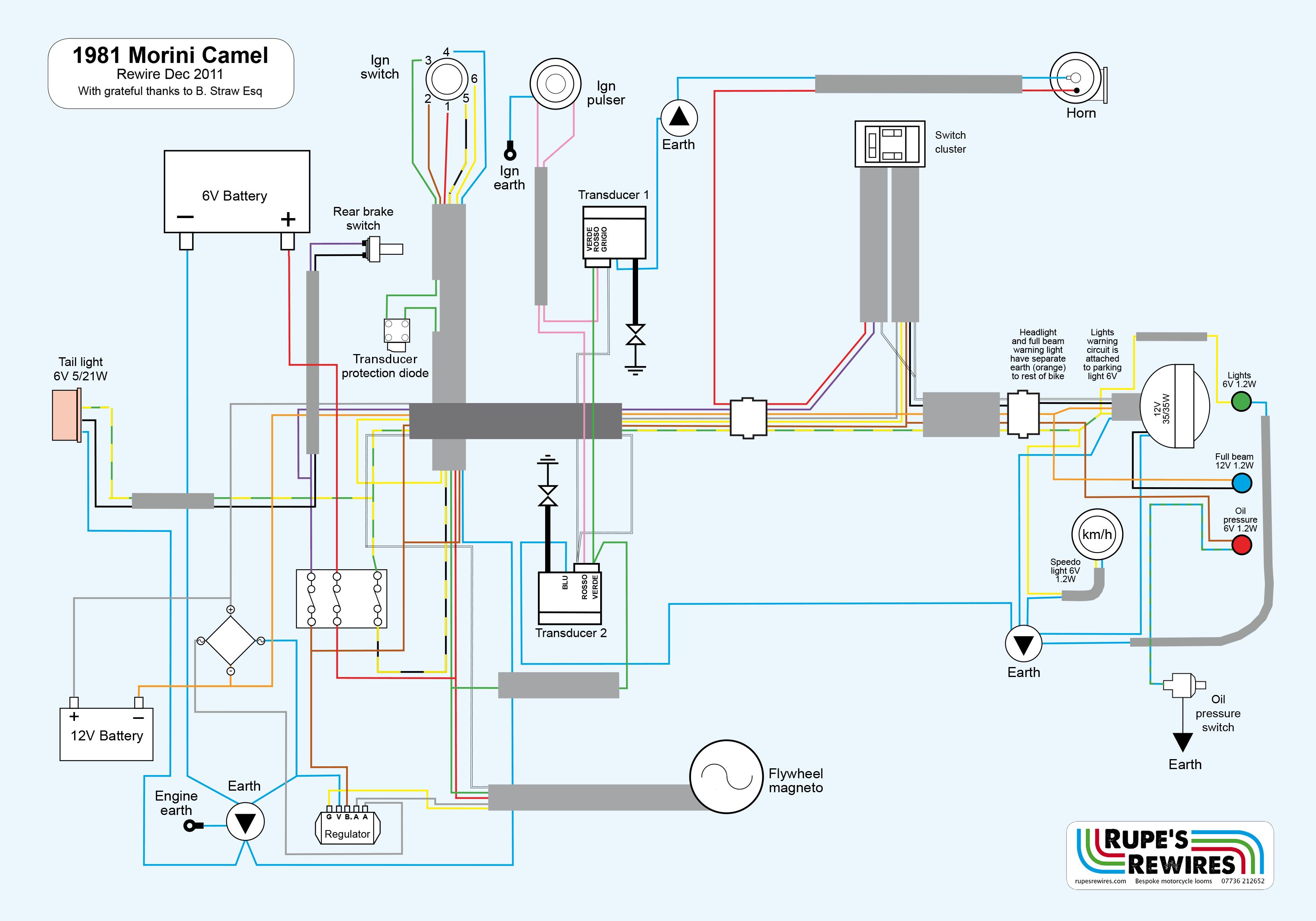 1981 morini 500 camel  u2013 wiring diagram