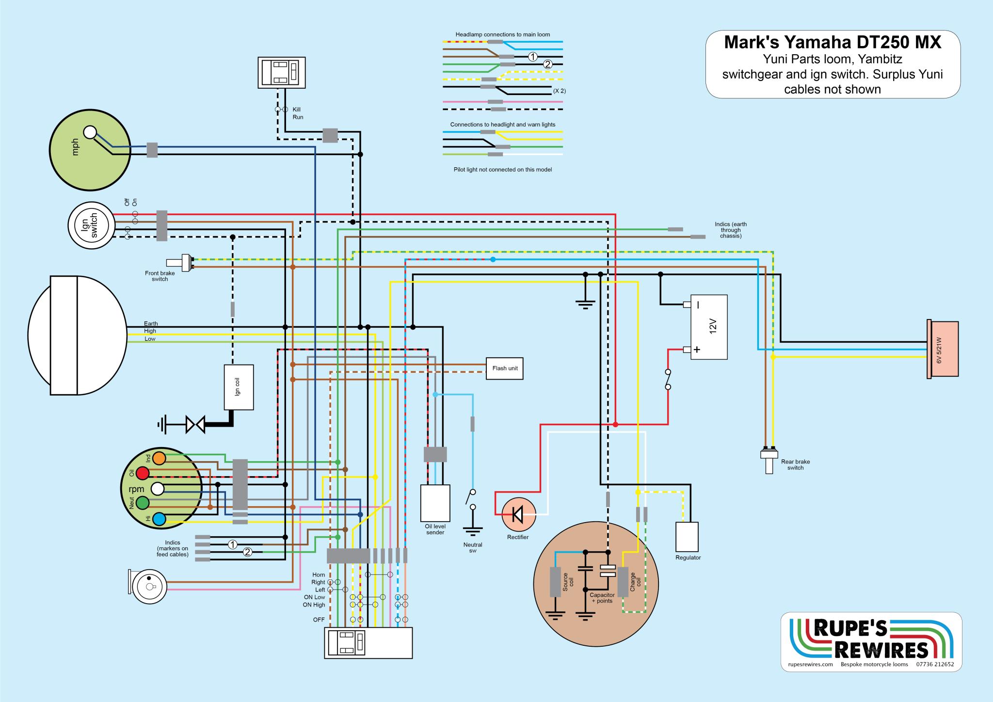 Wiring Diagram Yamaha Dt 250 - Page 3 - Wiring Diagram And Schematics