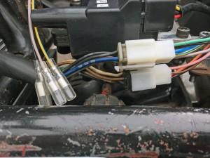 Second hand FireBlade switchgear plugs into a new loom