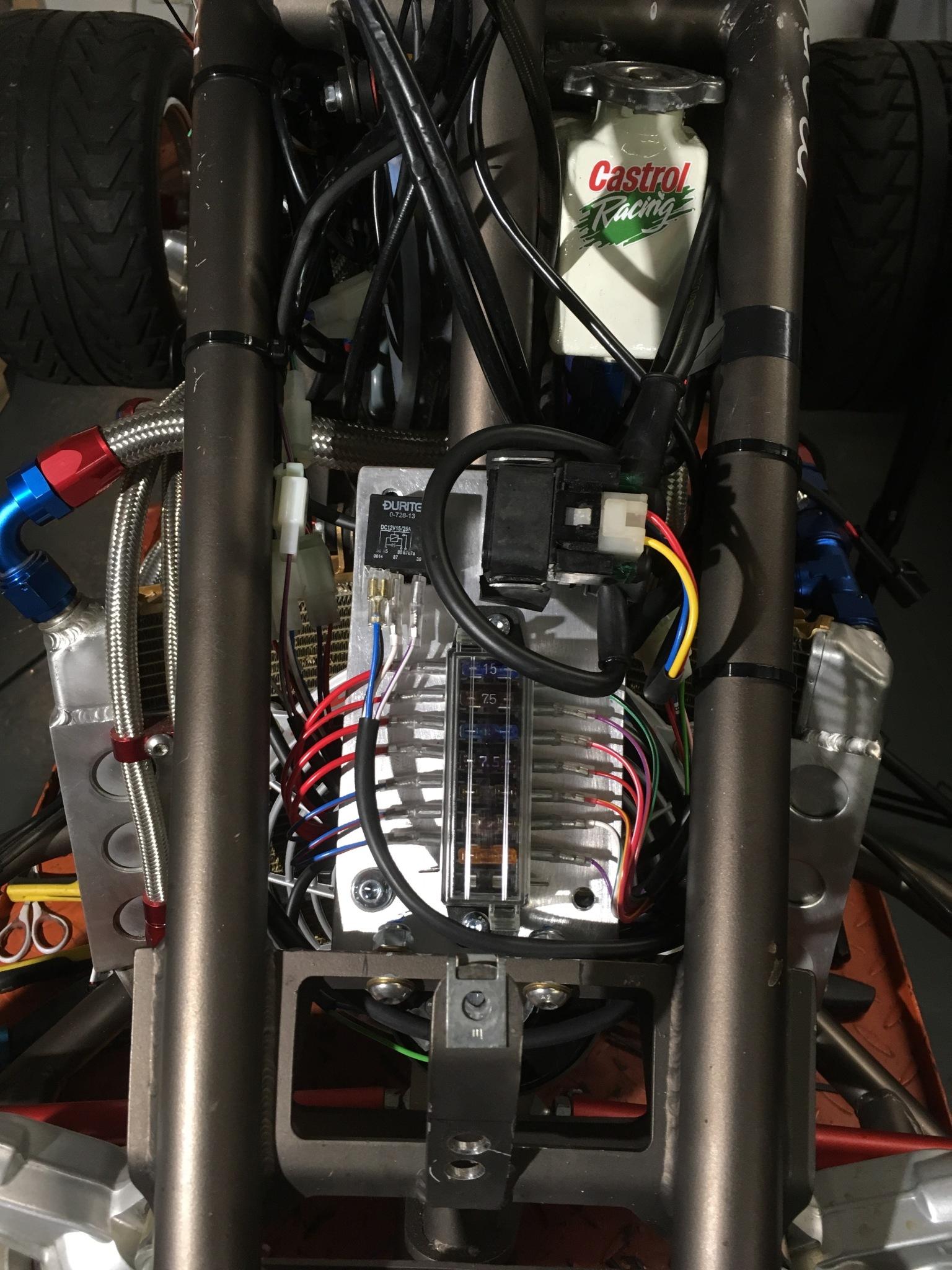 [DIAGRAM_4PO]  Aprilia SXV550 quad rewire | Aprilia Sxv Fuse Box |  | Rupe's Rewires