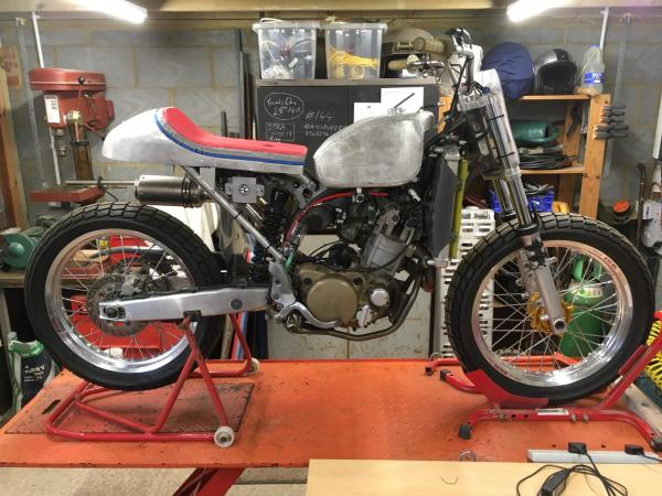 The bike will race in the 2019 UK Flat Track Championship