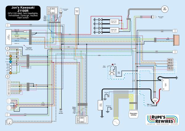 Jon's Z1100 decoy wiring