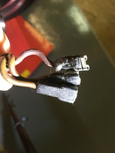 Old cables, high resistance, too much heat: we caught these just in time