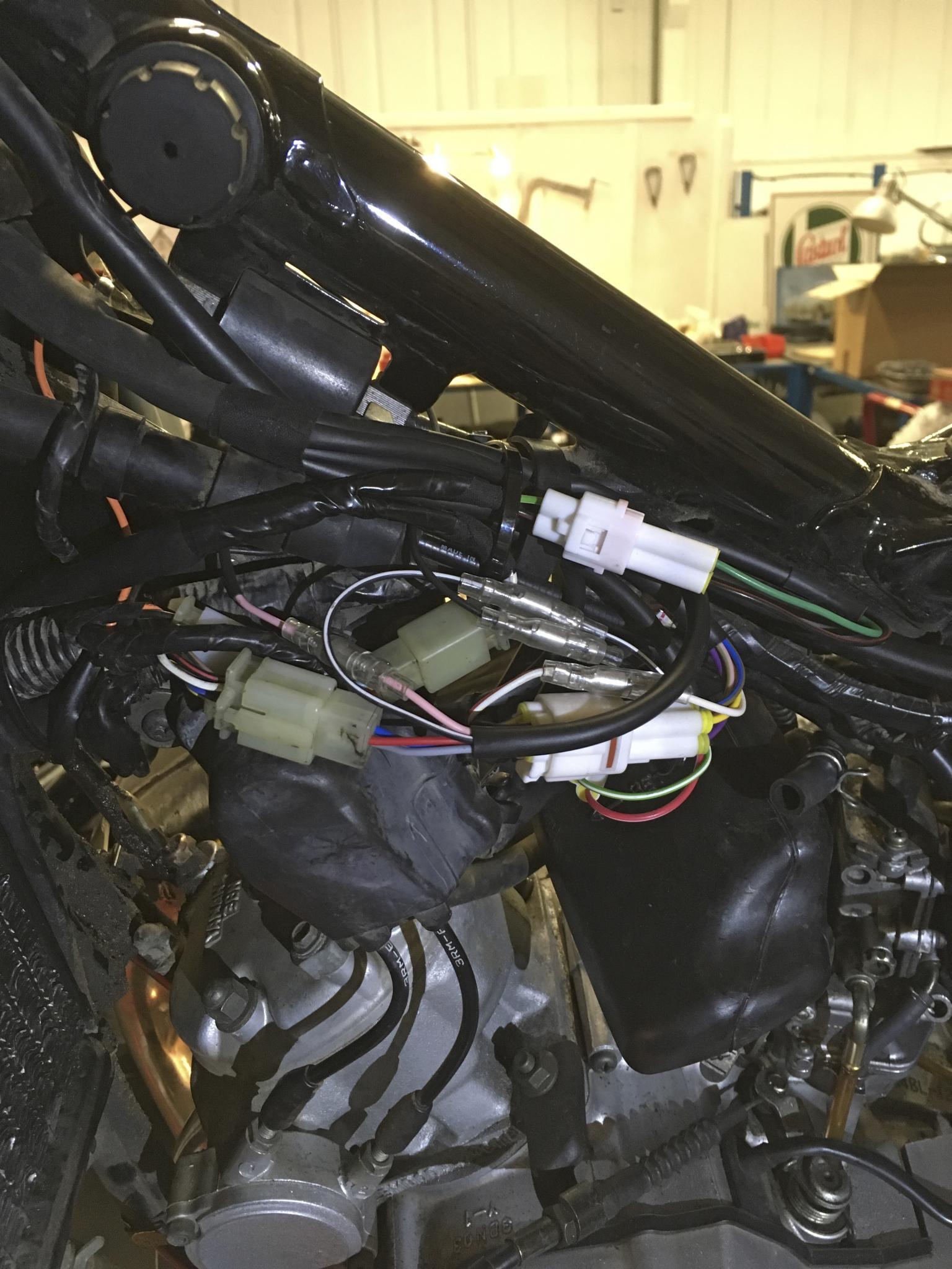 Jim U0026 39 S Yamaha Dt200r  U2013 Rupe U0026 39 S Rewires