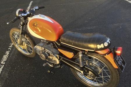 Very rare 1950s Italian sportsbike