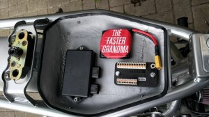 The starting point, with M Unit Blue, 1.1Ah battery and original ignition unit