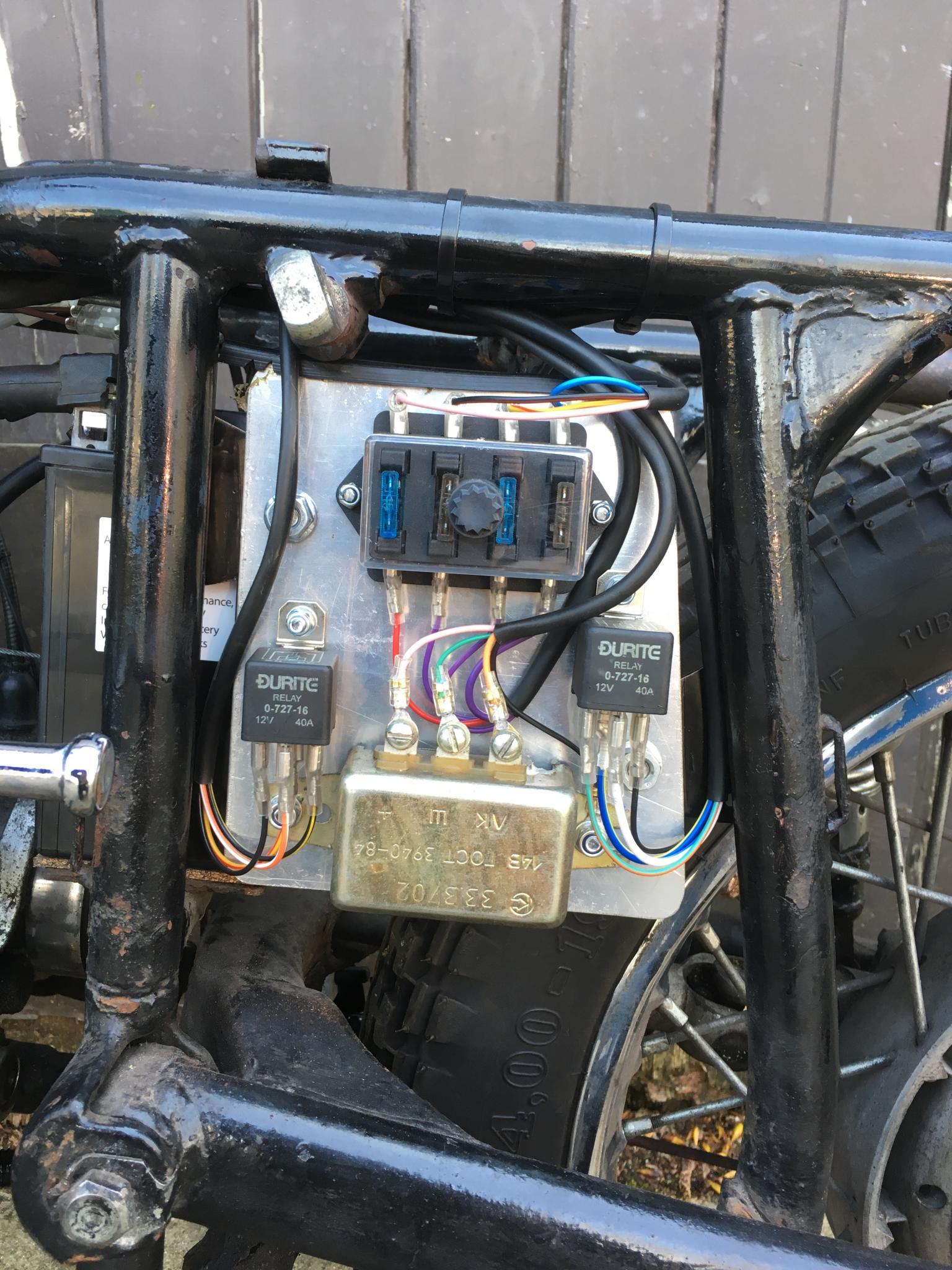 750 Ural Wiring Upgrade