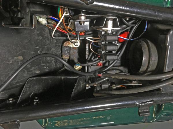 under seat